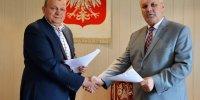 Umowa współpracy na pozyskiwanie środków unijnych gmina - powiat